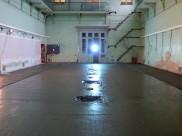 Beton vloer gegoten op 28 november 2013