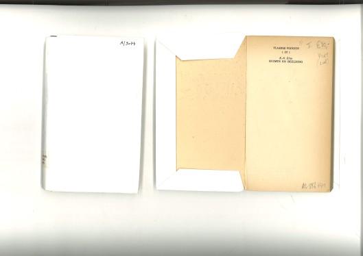 de 'gekafte' exemplaren van de Vakgroepbibliotheek
